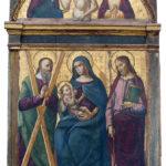 Dipinto madonna delle Grazie